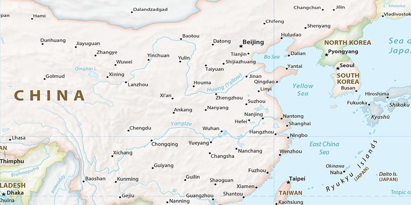 Huangyan China Location - Huangyan map